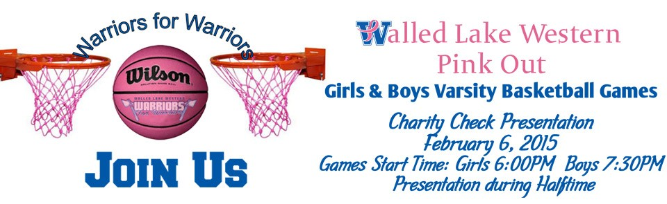 Join Us – 2015 Warriors for Warriors Basketball Pink Out