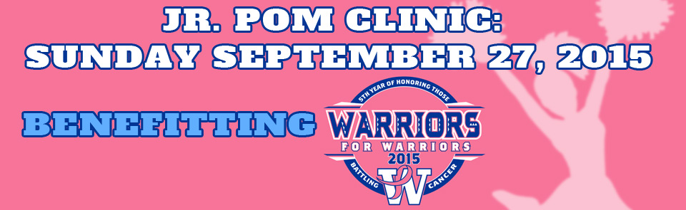 Walled Lake Western Varsity Poms Teams up to raise money for Cancer Awareness!