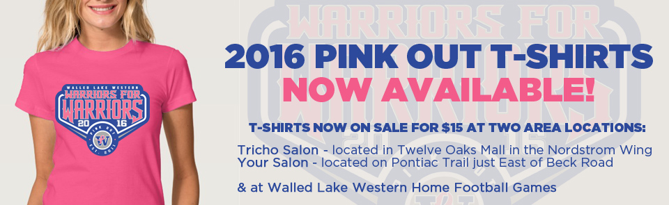 2016 Pink Out T-Shirt
